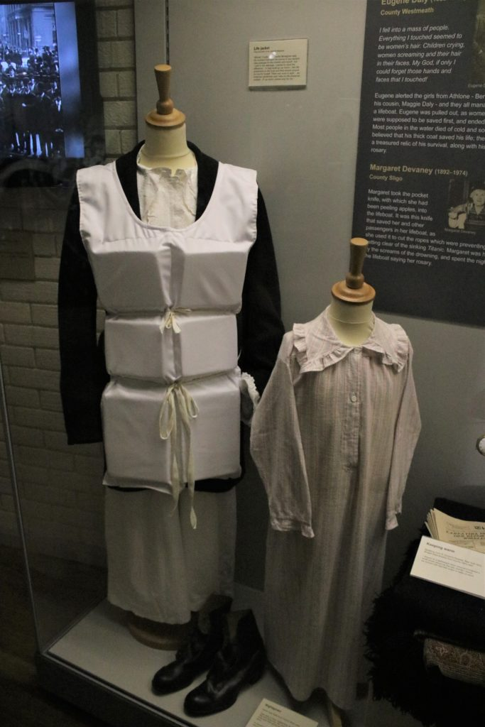 Titanic exhibition at Ulster American Folk Park