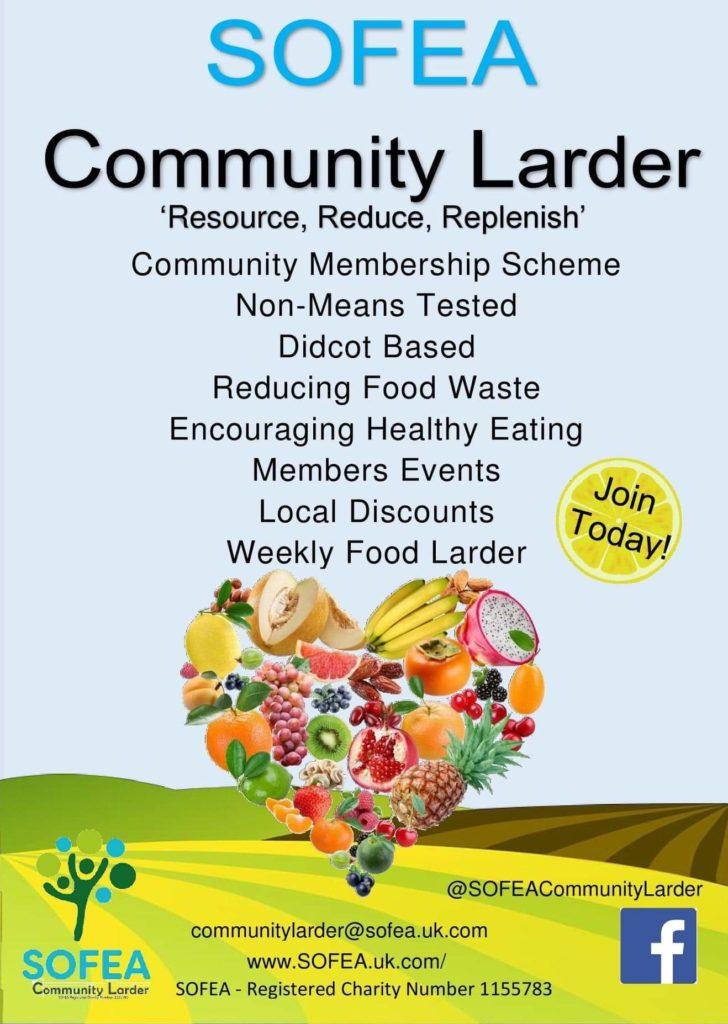 Community larder info flyer
