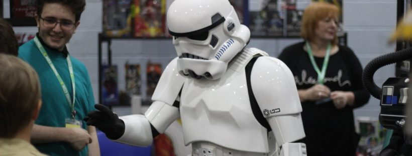 Stormtrooper at Thames comic con