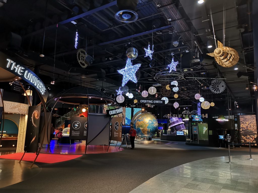 space galleries at the national space centre