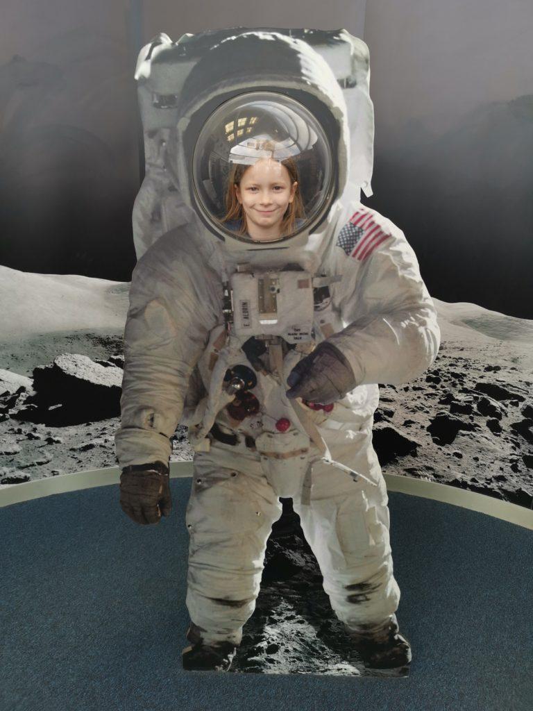 Space suit astronaut photo prop