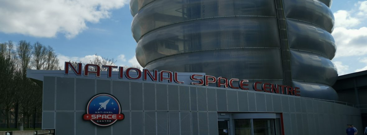 Front entrance of the national space centre