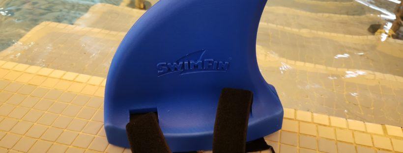 Swimfin in water