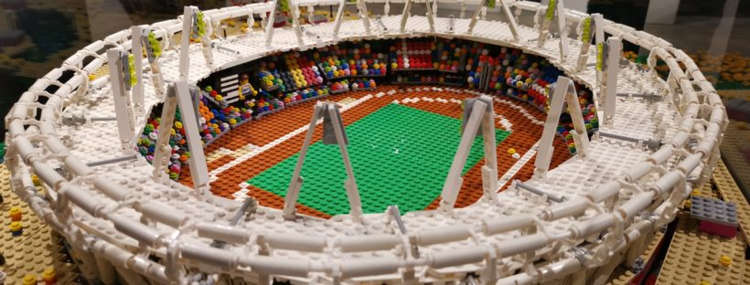 Lego Olympic stadium at Brick City