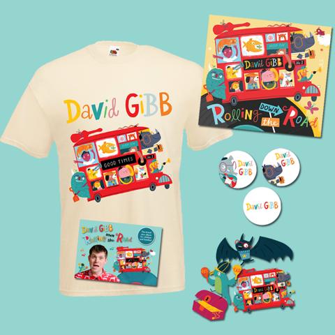 David Gibb Rolling Down The Road merchandise