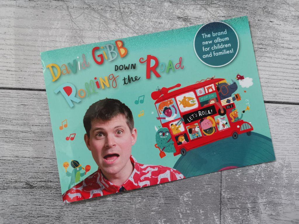 David Gibb postcard