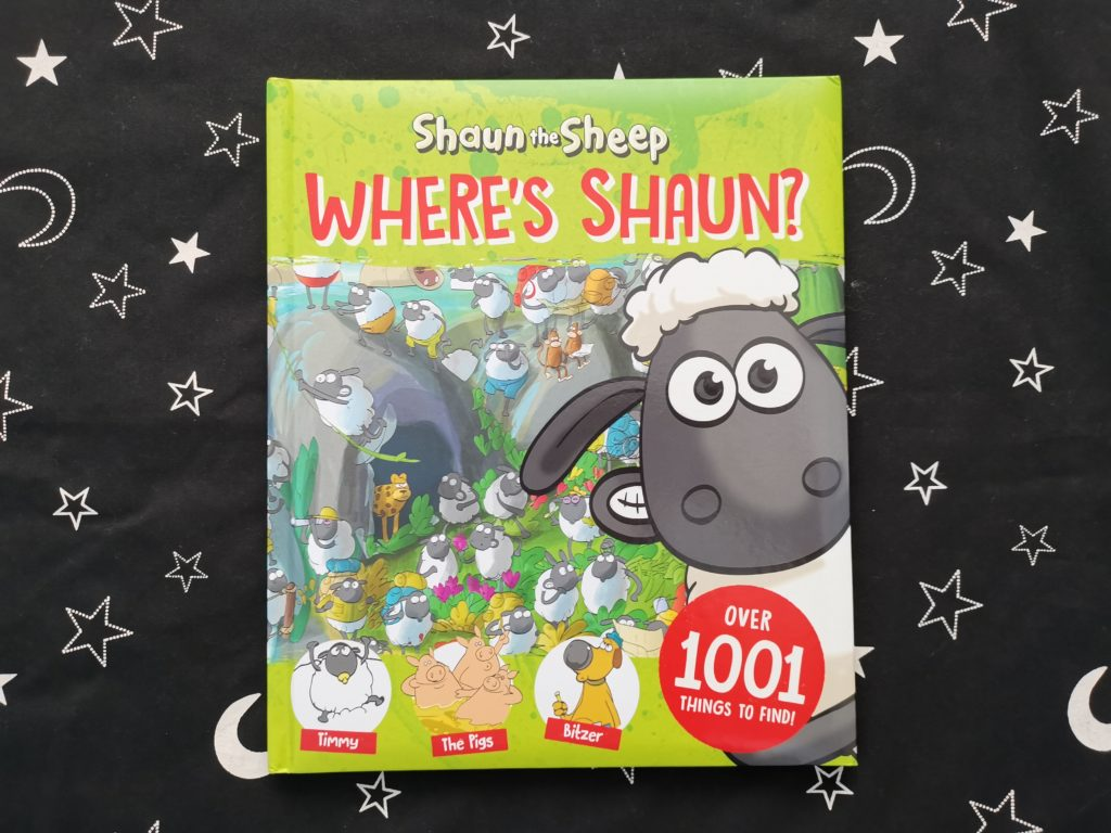 Front cover of Where's Shaun book