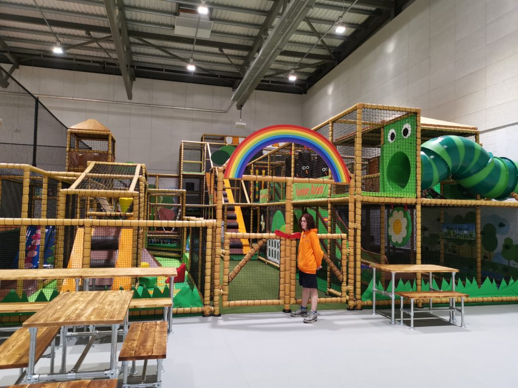 The soft play area at Carterton soft play and trampolne park