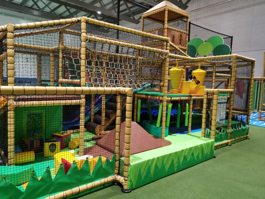 View of the under 5s area in the soft play centre at Carterton Soft play and trampoline park