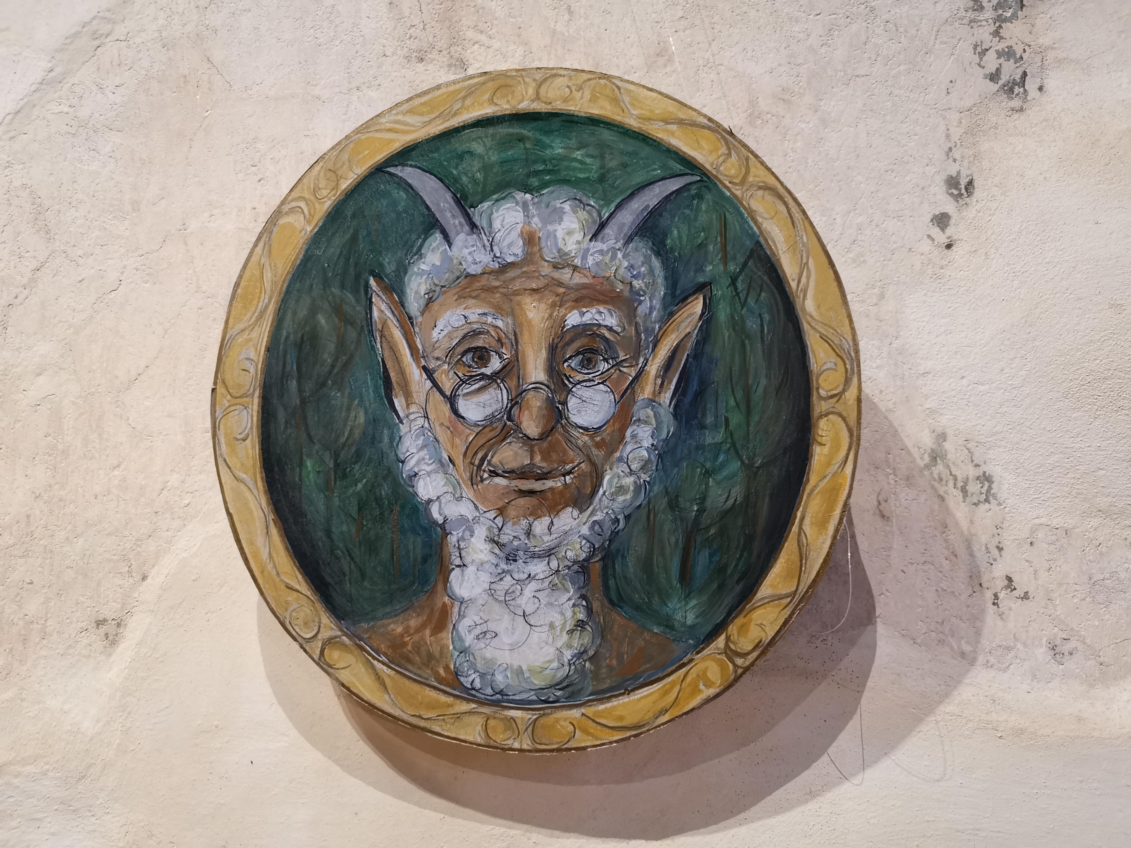 picture of Mr Tumnus at Dorchester Abbey