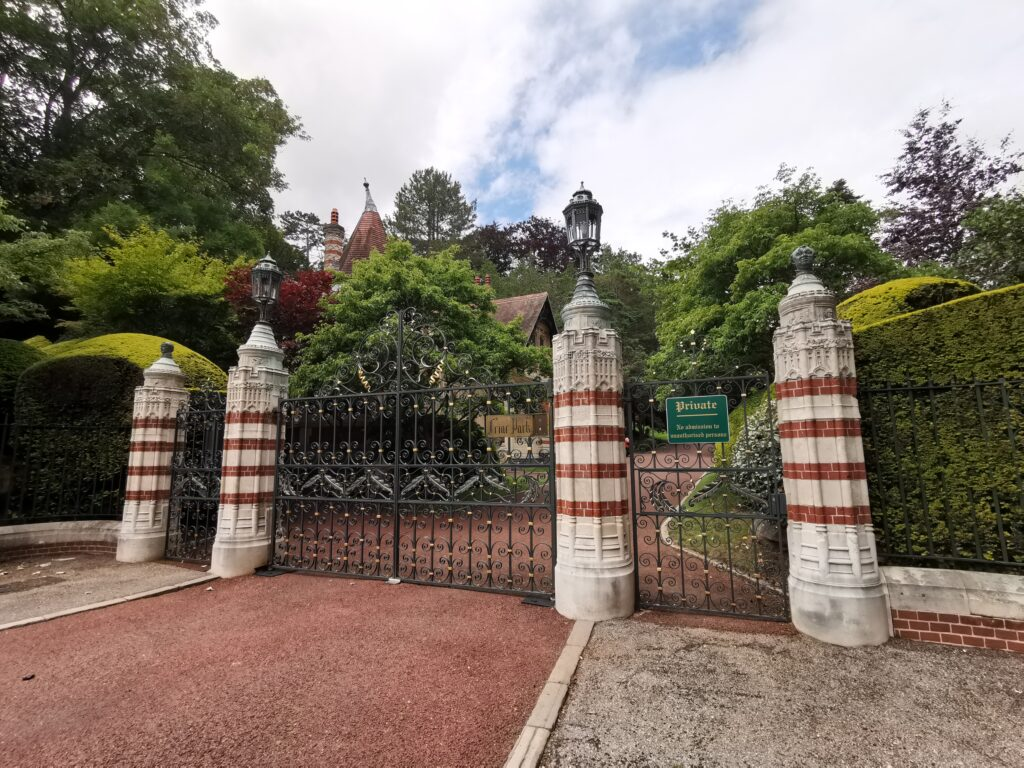gates to george Harrisons home