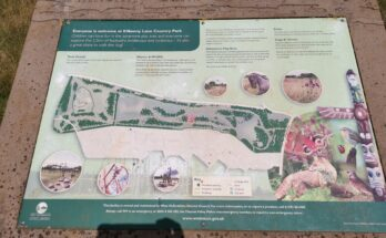 Map of Kilkenny Lane Country Park
