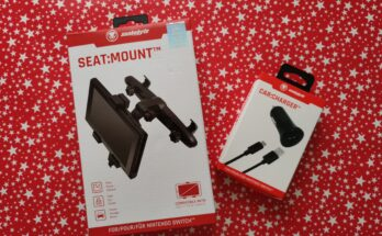 Snakebyte SEAT:MOUNT and CAR:CHARGER boxes