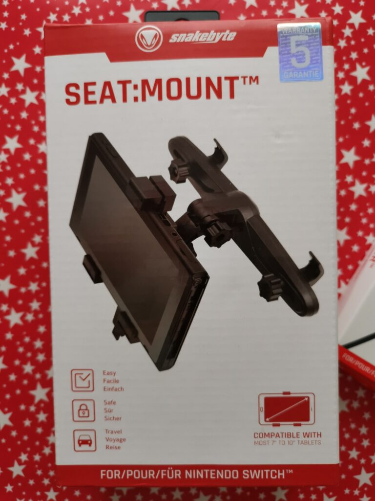 Snakebyte SEAT:MOUNT box