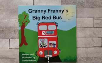 Front cover of Granny Franny's Big Red Bus book