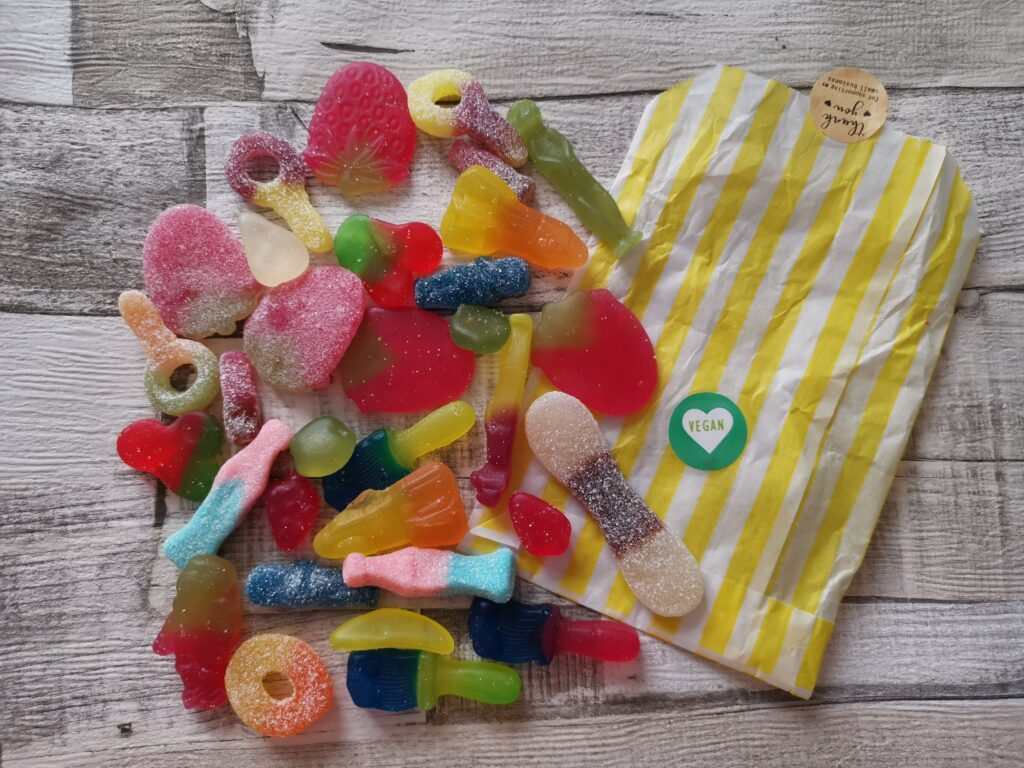 Party bag sweets