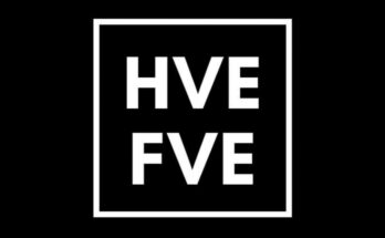 HVE FVE Black and white logo